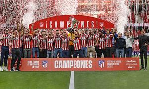 ATM Insider. Atlético de Madrid, LaLiga champions