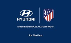 El Atlético de Madrid y Hyundai renuevan su acuerdo de patrocinio