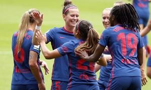 Resumen EDF Logroño 0 - 2 Atlético de Madrid Femenino