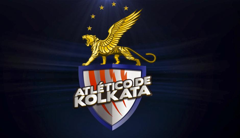 El escudo del Atlético de Kolkata