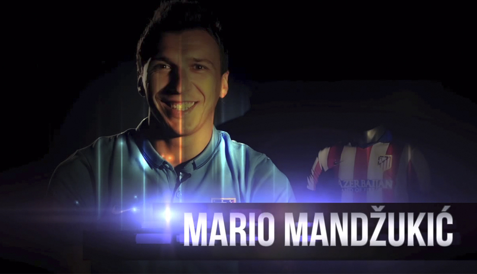 First interview with Mandzukic as an Atlético player