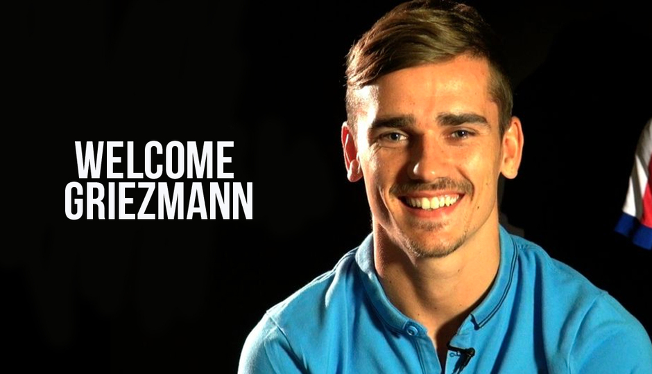 First interview with Griezmann as an Atlético player
