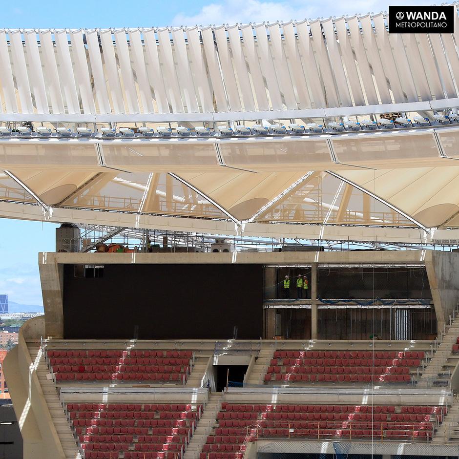 Club atl tico de madrid nuevos avances en el wanda for Puerta 3 wanda metropolitano
