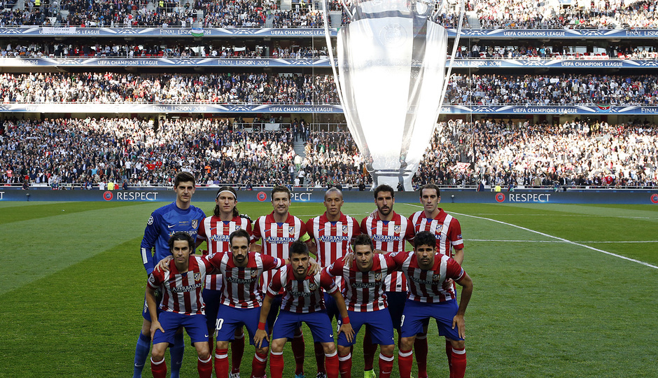 Final Champions League 2014. Real Madrid - Atlético de Madrid.
