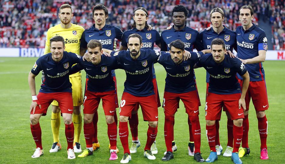 Athetic Atletico De Madrid Once