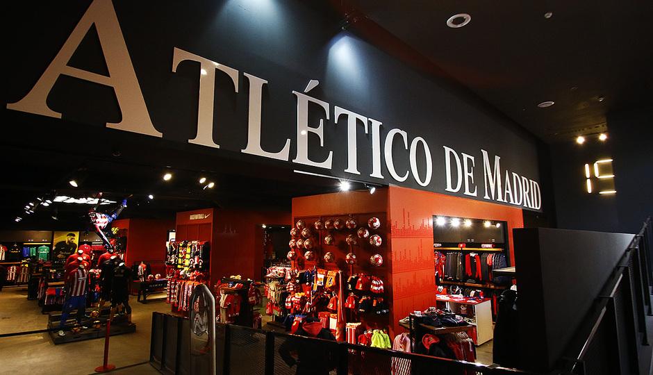 tienda atletico de madrid calderon