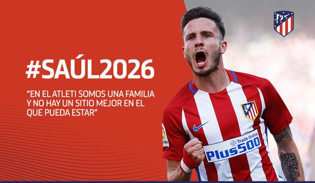 oVoAbk4YtE_16_9_saul Saúl renueva su contrato con el Atlético de Madrid - Comunio-Biwenger