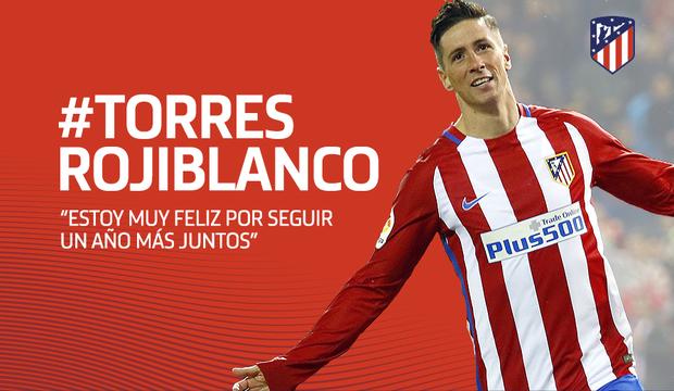 Torres, renovado