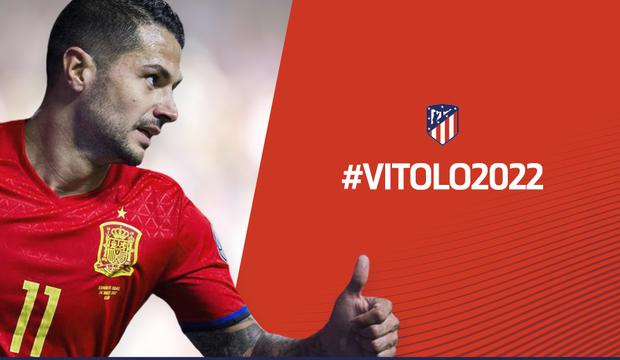 Atlético de Madrid Vitolo