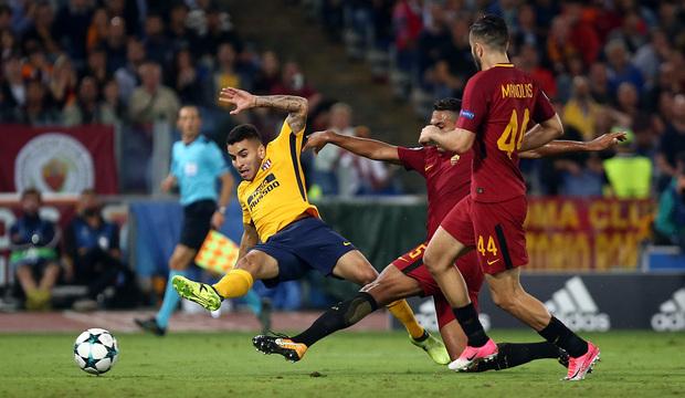 """""""Roma"""" - """"Atletiko"""" matçında güclü müəyyənləşmədi - <font color=#ff0000>VİDEO</font></strong>"""