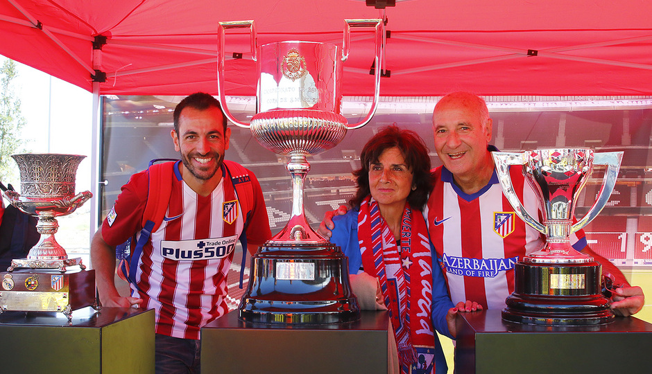 Club Atlético de Madrid - The images of a historic day - 웹