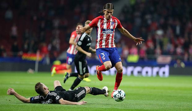 Temp. 17/18 | Atlético de Madrid - Qarabag | Filipe Luis