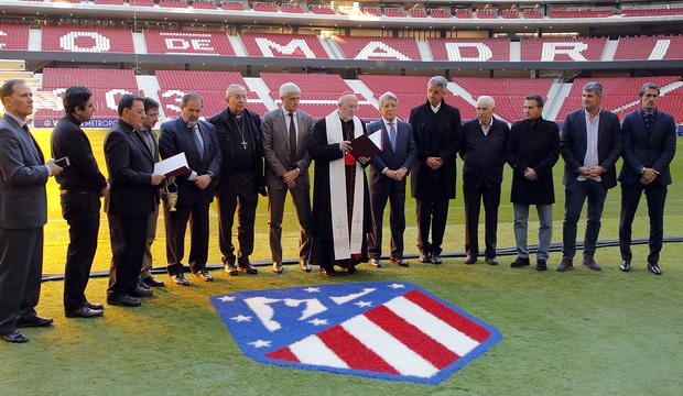Bendición del Wanda Metropolitano