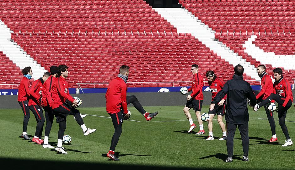 Arrancamos la preparación del partido ante el Athletic que disputamos este  domingo 18 de febrero a las 16 15 en el Wanda Metropolitano. b8db260f6e4d3