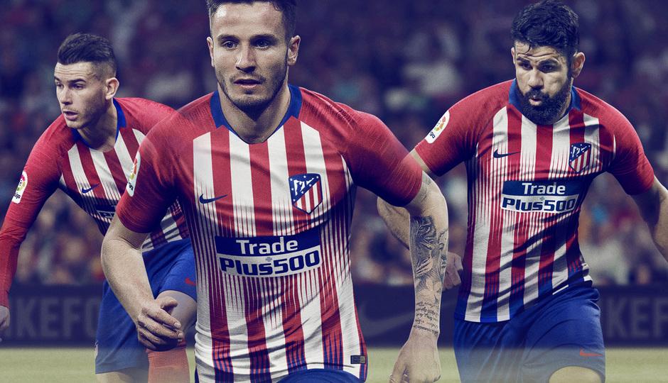 9a338057cc Club Atlético de Madrid - Presentamos la primera equipación y el kit ...