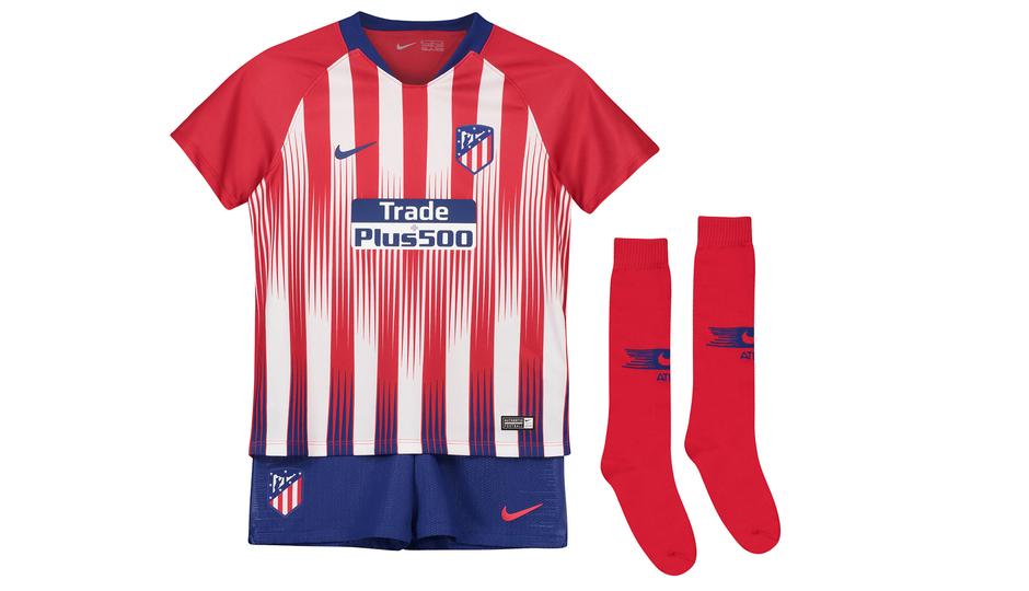 Club Atlético de Madrid - Presentamos la primera equipación y el kit ... 91169a25bd671