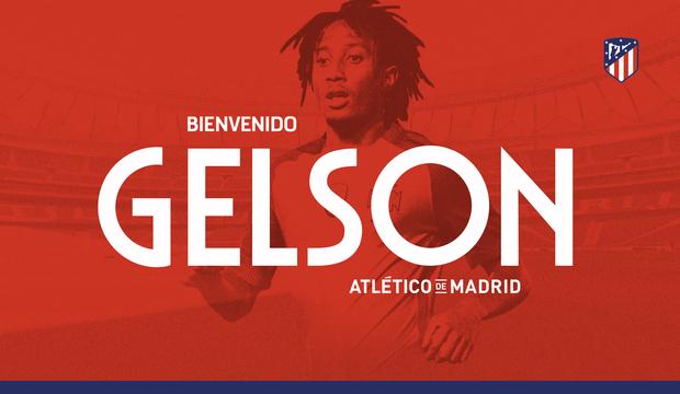 Club Atlético de Madrid · Web oficial - Gelson Martins se convierte ... b9791e2146e68