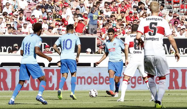 Club Atlético De Madrid Web Oficial Our Friendly Against Vfb