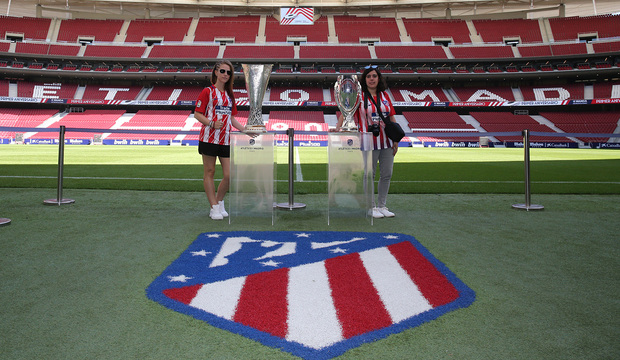 a8c99a376b6 Club Atlético de Madrid · Web oficial - Disfruta de la Semana Santa  realizando el Tour Wanda Metropolitano