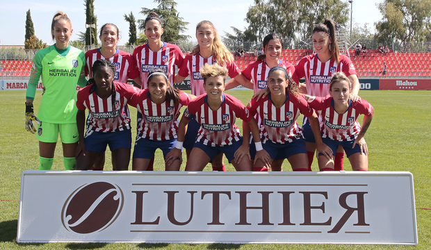 Temporada 2018-2019 | Atlético de Madrid Femenino - Logroño | Once