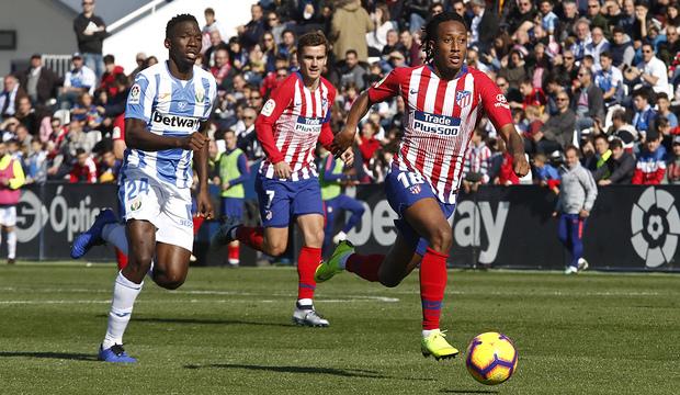 Temporada 2018-2019 | Leganés - Atlético de Madrid | Gelson