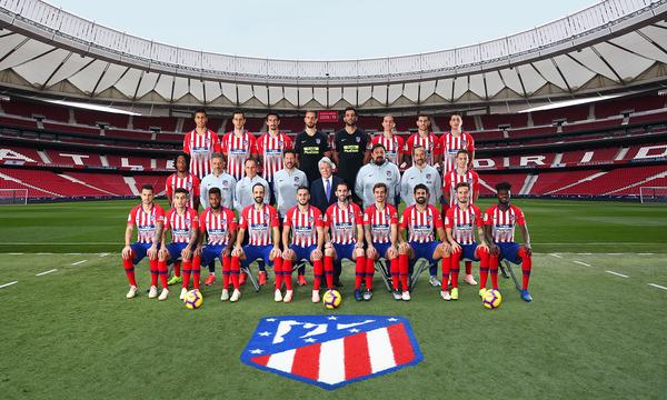 Club Atletico De Madrid Web Oficial Atletico De Madrid S Official 2018 2019 Team Photo