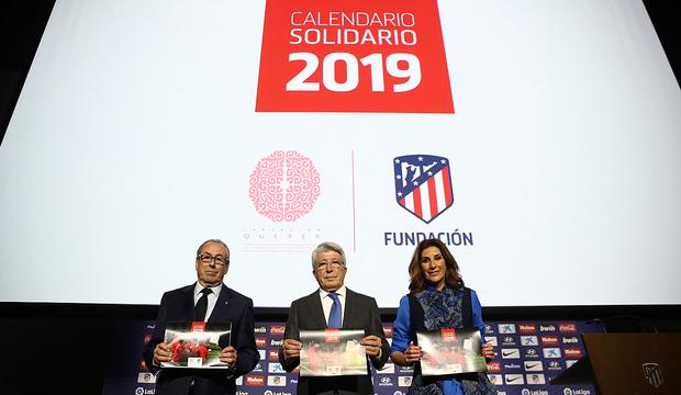 Calendario Madrid 2019.Club Atletico De Madrid Web Oficial We Join Fundacion Querer For