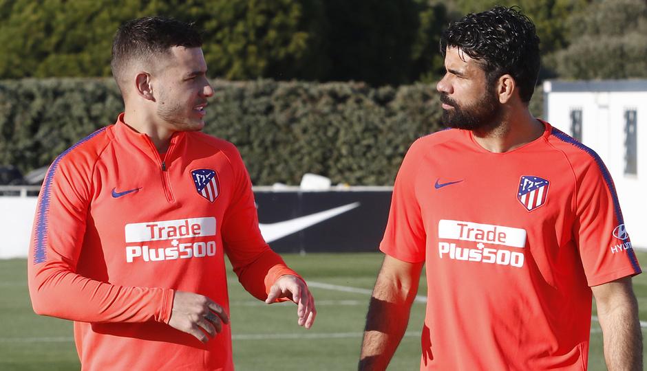 Lucas y Costa, durante la sesión (Foto: ATM).