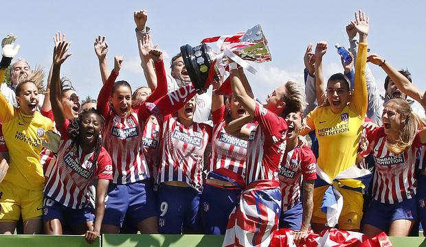 Resultado de imagen de atletico madrid titulo liga 2019