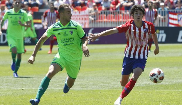 Temporada 18/19 | Atlético B-CD Mirandés | Sergio Camello
