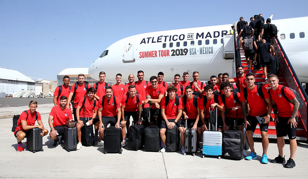 Temp. 19-20 | Viaje a Estados Unidos | Atleti Summer tour