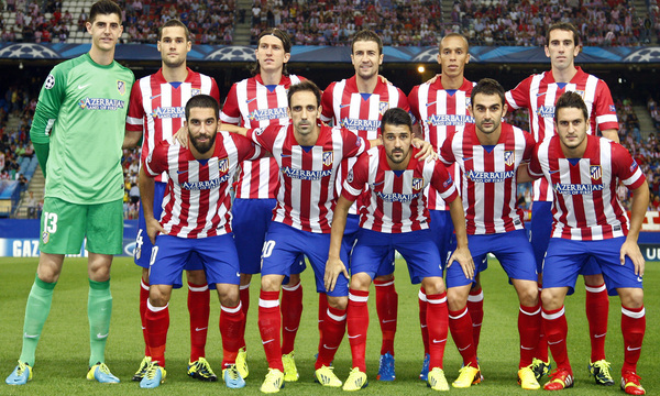 Club Atletico De Madrid Web Oficial Victory On Champions League Return