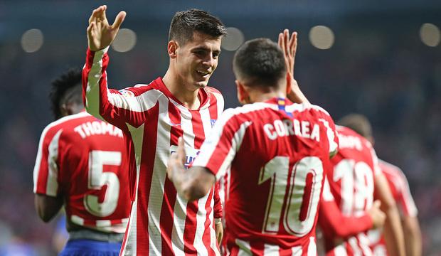 Temp. 19-20 | Atlético de Madrid - Athletic Club | Morata y Correa