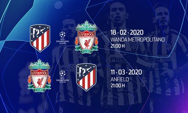 Club Atlético De Madrid Web Oficial El Liverpool Será Nuestro Rival En Los Octavos De Final De La Champions