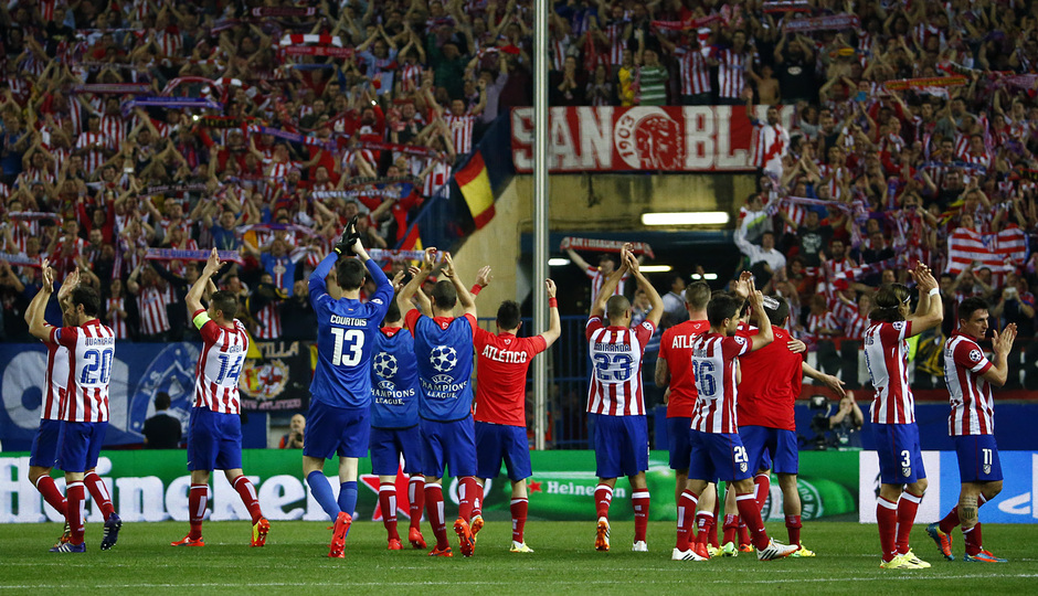 Club Atlético de Madrid - A night to go down in history