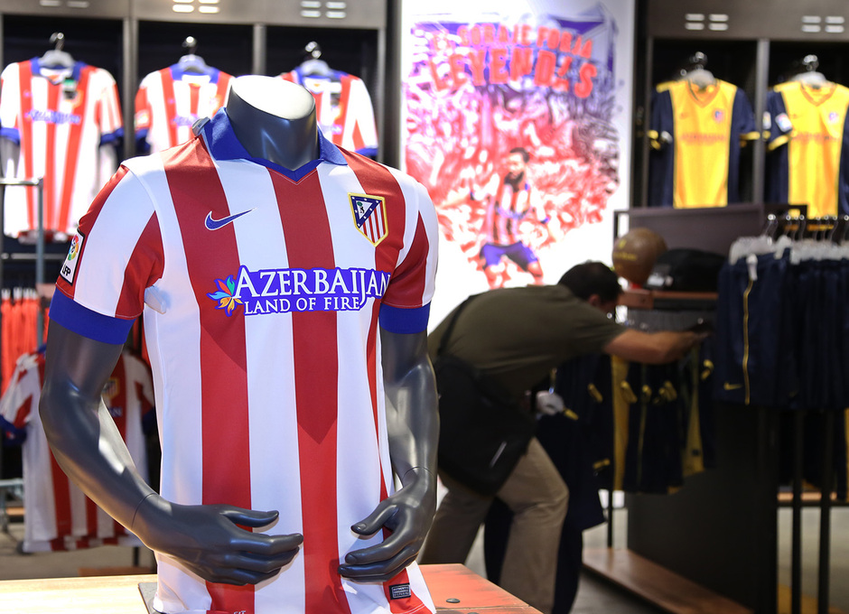 Camiseta Atlético de Madrid en venta