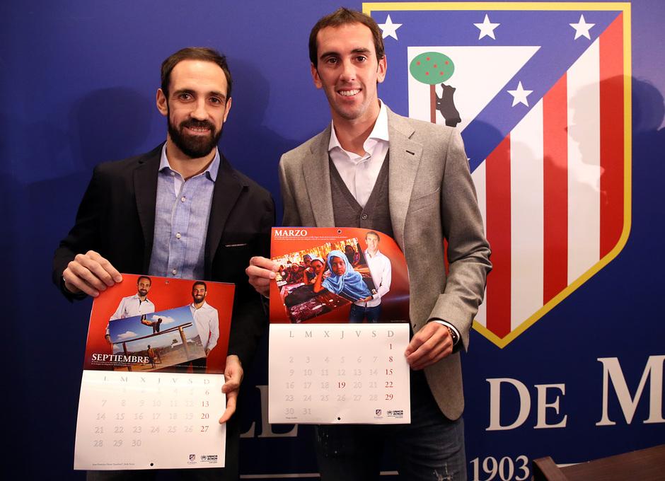 Calendario Atletico Madrid.Club Atletico De Madrid Calendario Solidario 2015 Educa A