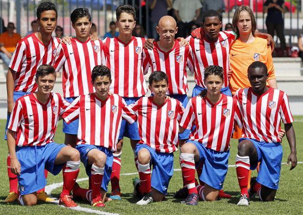 a1877dd7cc63b Club Atlético de Madrid · Web oficial - El Alevín A finalizó cuarto ...