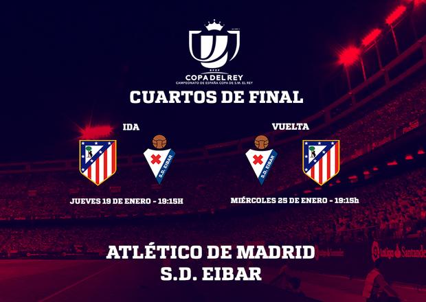 Club Atlético de Madrid · Web oficial - El Eibar será nuestro rival ...
