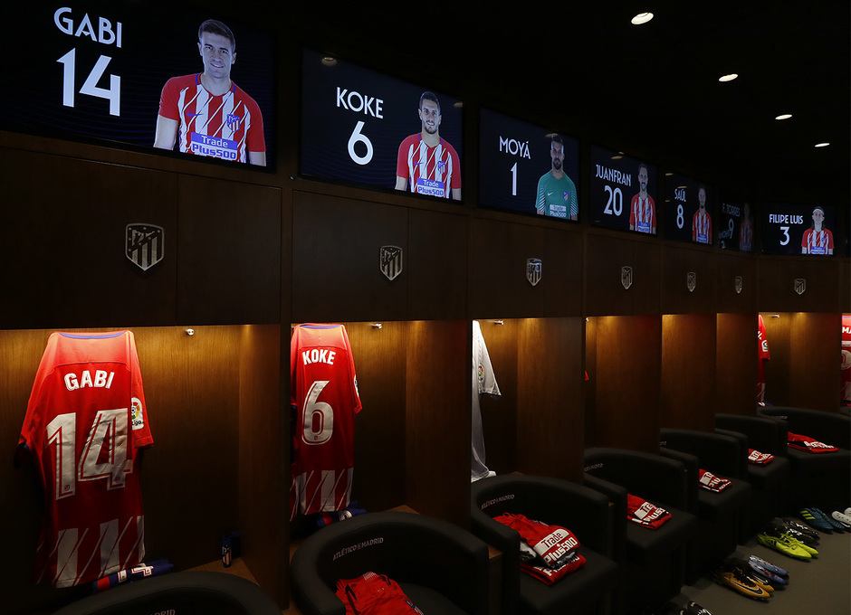Club Atl Tico De Madrid Our Dressing Room Is Ready For