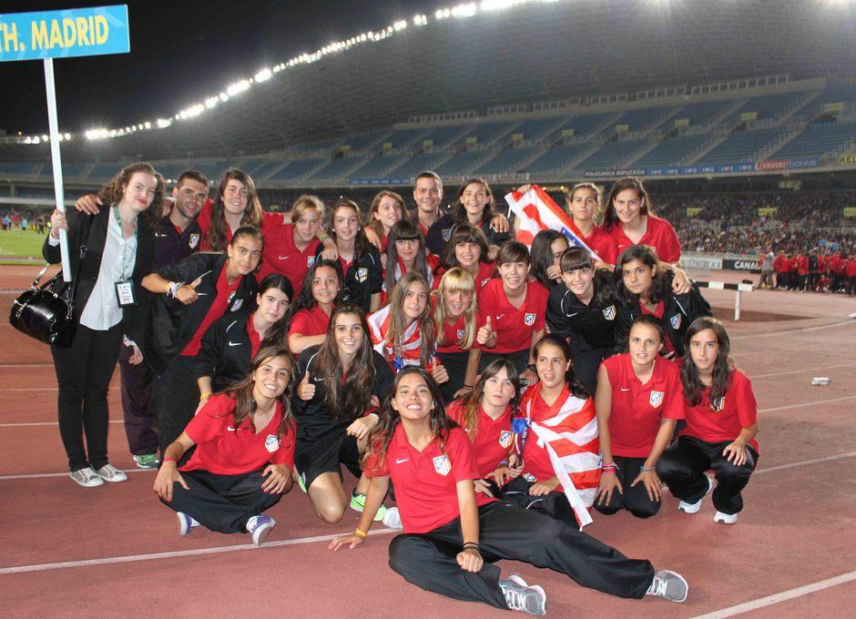 Donosti Cup Calendario Partidos.Club Atletico De Madrid Nuestros Equipos En La Donosti Cup