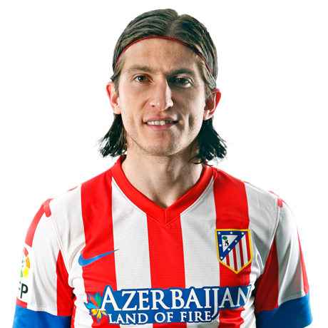 ¿Cuánto mide Filipe Luis? - Real height Filipe-ficha