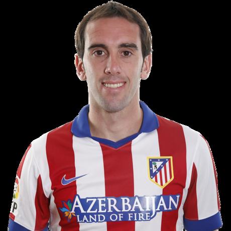 Camiseta Atlético de Madrid Godín