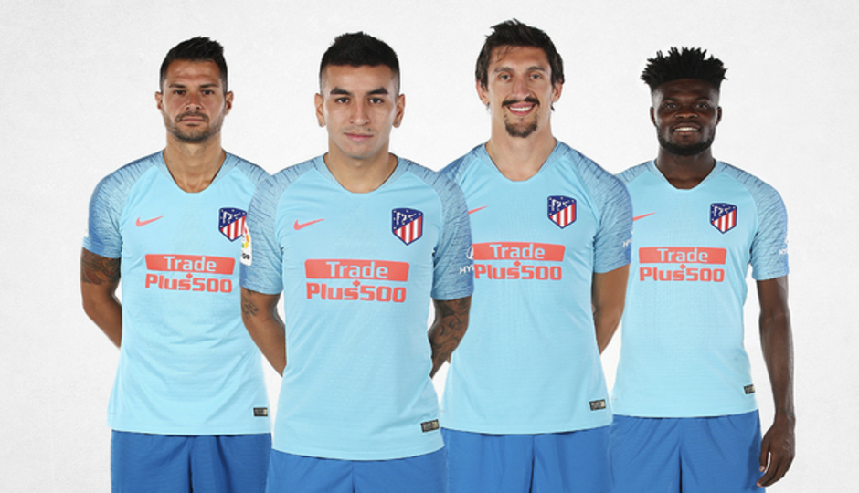 56ddaf1bf27 Club Atlético de Madrid · Web oficial - Our away kit for the 2018 19 ...