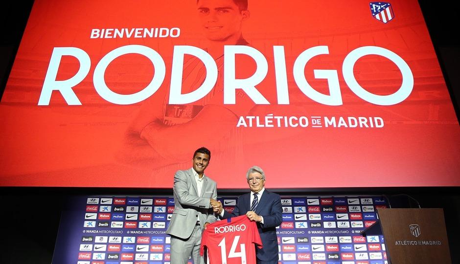 """Club Atlético de Madrid · Web oficial - Rodrigo: """"I'm going to give"""