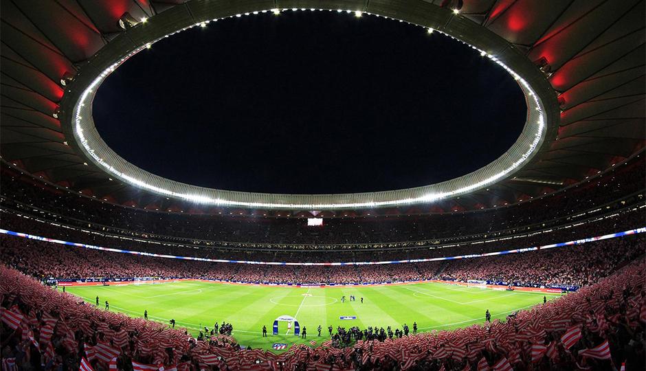 La cancha del Wanda Metropolitano