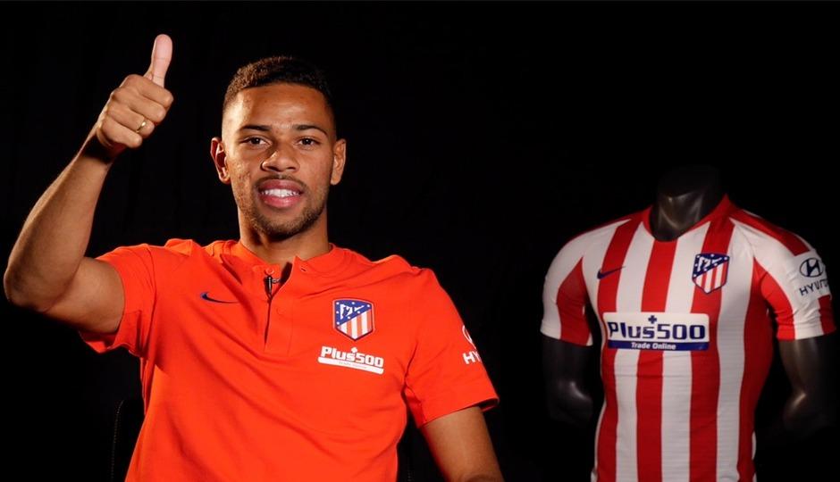 Club Atletico De Madrid Web Oficial Renan Lodi It Means A Lot