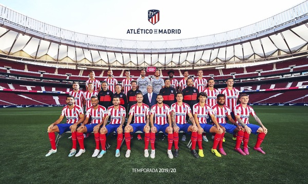 Club Atletico De Madrid Web Oficial Here S Our Official 2019 20 Photo
